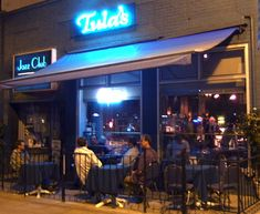 Tula's Restaurant and Jazz Club - Seattle.  Small, intimate venue - what a real jazz club should be.
