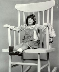 """Lily Tomlin as Edith Ann """"And that's the truth!"""""""