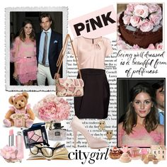 """""""Olivia Palermo pink"""" by aline29 on Polyvore"""