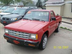 1987 Chevy s10. I know it's odd Jess, but I love these trucks. Their simplicity... The stick shift, low to ground. I like 1993 Chevy s 10 the best. Wantttttt!!!!