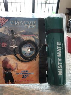 Misty Mate Pump Personal Portable Air Conditioner As Seen On TV Light Weight  #MistyMate