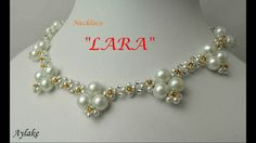 How to make beaded necklace LARA