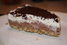 lchf lavkarbo kake dessert Low Calorie Recipes, Keto Recipes, Healthy Recipes, Low Carb Sweets, Pudding Desserts, Sweets Cake, Chocolate, Low Carb Keto, Healthy Snacks