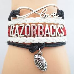 Infinity Love Arkansas Razorbacks Football BOGO