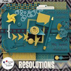 Mini-kit Resolutions par LeaUgoScrap