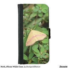 Moth, iPhone Wallet Case. iPhone 6 Wallet Case