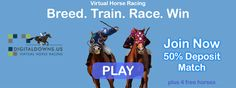 Join now digitaldowns. Virtual Horse Racing, Free Horses, Join, World, Digital, The World