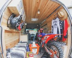 Another Moto Van Build - Moto-Related - Motocross Forums / Message Boards…