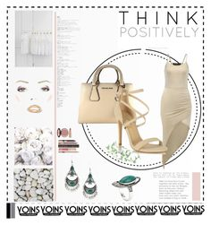 """Yoins #27/1"" by s-o-polyvore ❤ liked on Polyvore featuring MICHAEL Michael Kors, Miss Selfridge, WALL, Charlotte Tilbury, vintage, yoins, yoinscollection and loveyoins"