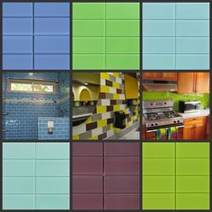 Glass Subway Tile | ... matte lush glass subway tiles in the colors pool breaker and wasabi