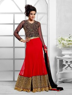 Embroidered Semi-stitched Lehenga Product code: SFJS84002