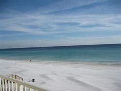 Beach View from Unit 205 | Sea Oats Management Co. | Places To Stay In Destin, FL