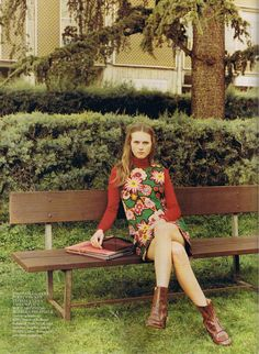 70s Style by Bay Garnett from Vogue UK June 15