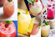 21 Delicious cocktails made with tequila or mezcal Sparkling Strawberry Lemonade, Strawberry Mojito, Strawberry Summer, Summer Fruit, Summer Food, Easy Cocktails, Cocktail Recipes, Drink Recipes, Party Recipes