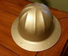 USA Vintage B. F. MCDONALD LOS ANGELES Aluminum HARD HAT