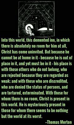 Jesus' presence in the world Thomas Merton