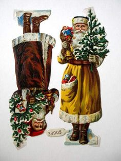 EKDuncan - My Fanciful Muse: Vintage Christmas Santa - Victorian Scraps