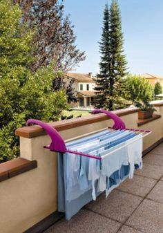 Make The Most Of A Small Balcony With The Antonius Drying
