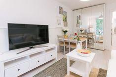 Szafka rtv Dory, Tiny House, Flat Screen, Furniture, Home Decor, Tattoos, Houses, Living Room, Blood Plasma