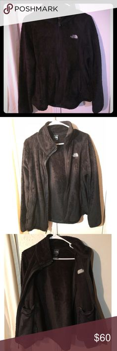 North Face Fleece Zip Up Very comfortable fleece North Face. Good condition. Inside and outside pockets. Very warm and cozy. Sweaters Crew & Scoop Necks