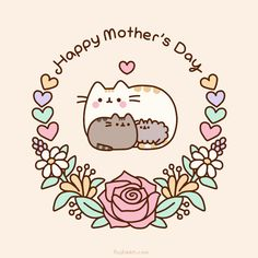 #Pusheen the cat For my mother❤