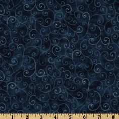 Moda Marble Swirls (9908-31) Windsor Blue from @fabricdotcom  Designed for Moda Fabrics, this classic blender cotton print features blue swirls on a dark blue marbled background.