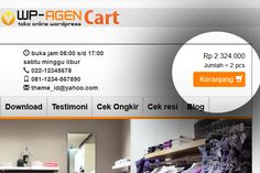 Jasa Website Toko Online I Jasa Pembuatan website Bandung Wordpress, Website, Blog, Shopping, Blogging