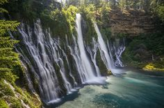 Hike to Burney Falls Lake Tahoe › Burney Falls Loop Trail