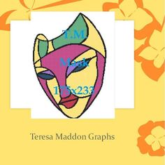 Looking for your next project? You're going to love Mask 175x223 by designer Teresa Maddon.