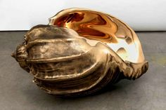 British sculptor Marc Quinn creates a multitude of large-scale structures that draw a resemblance to nature. His latest works, a series of giant bronze Bronze Sculpture, Sculpture Art, Marc Quinn, Shell Game, Tracey Emin, Time In The World, Modern Metropolis, Natural Forms, Archaeology