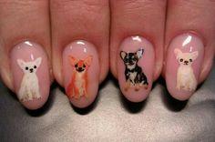 Chihuahua nails!!!