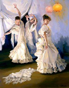 Por Amor al Arte: Las hermosas pinturas del artista español Ricardo sanz.