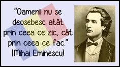 MIHAI EMINESCU Sayings, Awesome, Literatura, Words, Lyrics, Quotations, Idioms, Quote, Proverbs