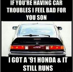 Hondas never say die! Honda culture.