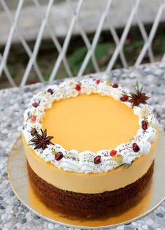 Kremasta mak limun torta – Sweetlifebykarla Orange Cookies, Cake Recipes, Cheesecake, Good Food, Birthday Cake, Desserts, Life, Tailgate Desserts, Deserts