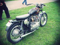 bsa motorcycles | Vintage BSA Custom Motorcycle
