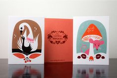 Darling Clementine  - 50's inspired graphics/packaging/illustration/stationary