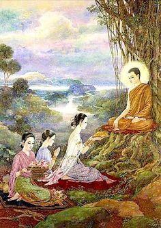 23 New Ideas For Basket Drawing Paintings Buddha Life, Buddha Art, Basket Drawing, Buddha Sculpture, Buddha Painting, Thai Art, Indian Paintings, Religious Art, Tribal Art