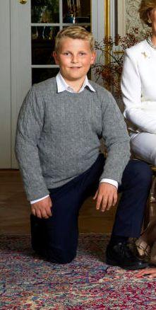 Prince Sverre Magnus, Février 2017, Photos officielles pour les 80 ans du Roi et de la Reine de Norvège