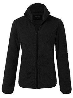 JayJay Women Athlete Ultra Soft Fur Fleece Long Sleeve Jersey Jacket,B Plus Size Coats, Golf Fashion, Line Jackets, Golf Outfit, Athletic Women, Vest Jacket, Fashion Brands, Athlete, Women Golf