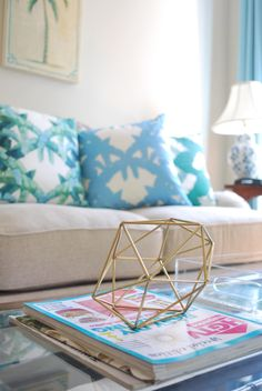 Throw Pillow | How To Decorate | Decorate with Color | Interior Design http://www.shelbydillonstudio.com