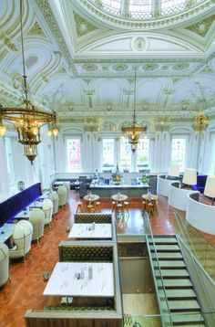 Connor's bar in the Merchant City would look a little like this view of the Corinthian Club, Glasgow