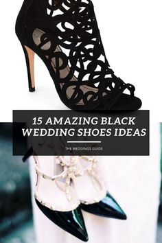 Amazing Black Wedding Shoes Ideas #blackshoes Bride Shoes, Wedding Shoes, Casual Wedding Groom, Wedding Dress Trends, Wedding Ideas, Fancy Shoes, Bridal Fashion Week, Black Shoes, Kitten Heels