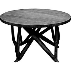 Dot & Bo Chesterson Coffee Table (€565) ❤ liked on Polyvore featuring home, furniture, tables, accent tables, wood coffee table, wood table, branch table, wooden table and wood accent table