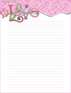 Printable Valentine Stationary   File Name : love%20topper%20beizer%20stationarylines.jpg Resolution ...
