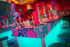 Bar Mitzvah Party, Bat Mitzvah, Corporate Event Design, Neon Party, Cake Table, Design Inspiration, Birthday, Creative, Wedding