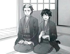 Bon and Rin are both at a temple.