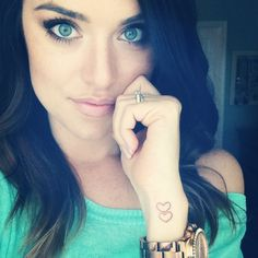 Heart Tattoos On Side Of Wrist Cool Eyecatching tatoos