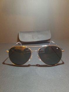 463c927791 AO Eyewear General Sunglasses 58mm Gray Polarized Optical Glass Lenses   fashion  clothing  shoes