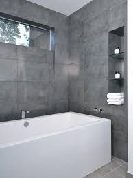 Image result for large format tiles small bathroom